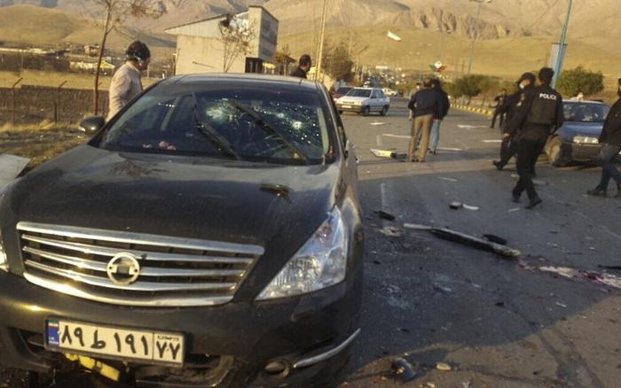 Thông tin mới nhất về vụ ám sát nhà khoa học Iran: Lộ diện khẩu súng máy điều khiển từ xa