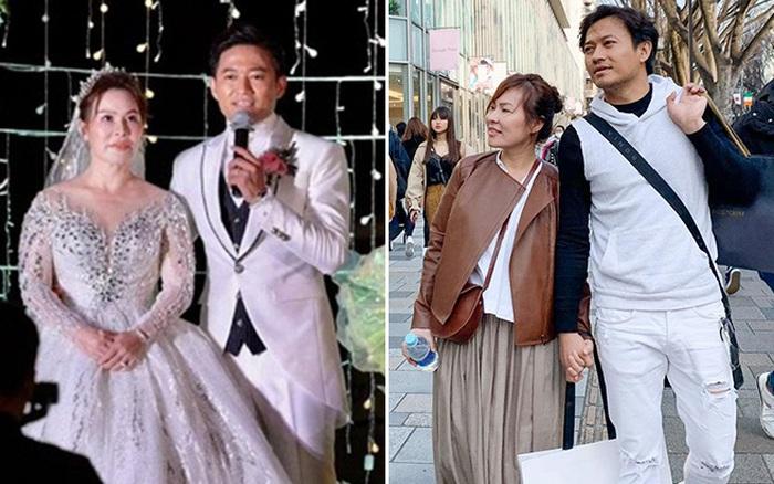 Những khoảnh khắc tình tứ của Quý Bình và vợ đại gia hơn tuổi