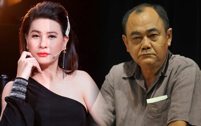 Cát Phượng xin lỗi NSND Việt Anh: Mong anh hiểu và bỏ qua. Em xin lỗi anh!