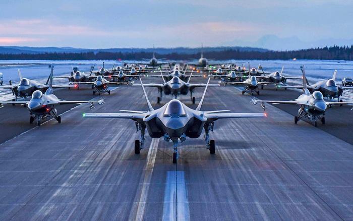 30 máy bay F-35, F-16 Không quân Mỹ