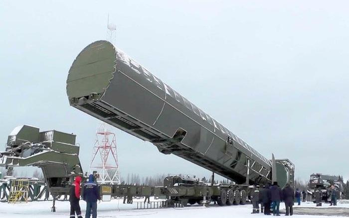 """Tổng thống Putin: """"Quá trình chế tạo tên lửa đạn đạo Sarmat sắp hoàn thành"""""""