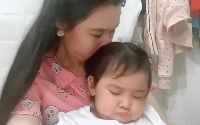 Vợ Vân Quang Long chia sẻ lại clip con gái 2 giờ sáng đòi đi tìm cha