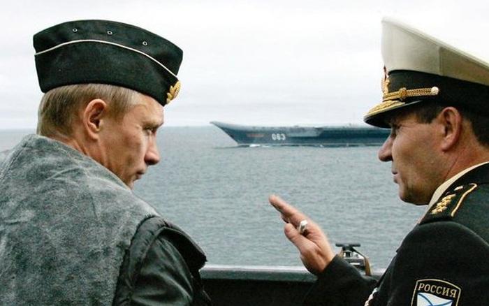 Ông Putin giăng sẵn