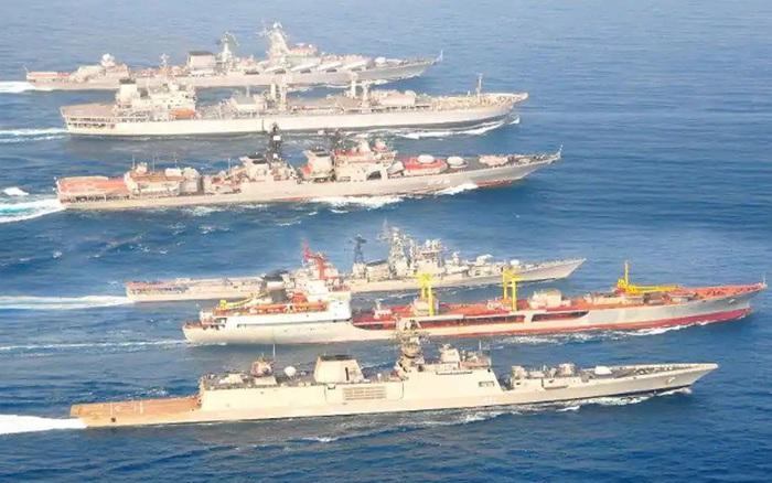 Ấn Độ - Nga tập trận hải quân chung - xổ số ngày 24122019
