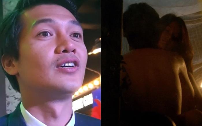 """Diễn viên Quang Tuấn: """"Tôi bị vợ la vì diễn cảnh nóng, hôn hít với bạn nữ không thật"""""""