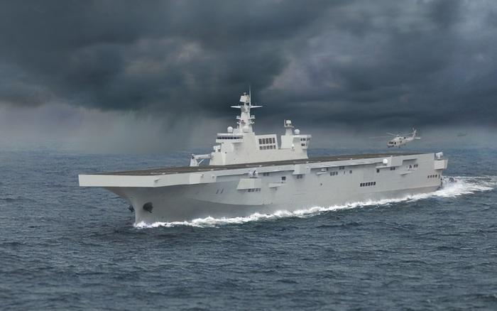 """Ai cũng nghĩ tàu đổ bộ mới của TQ nhắm vào Đài Loan mà quên 1 nơi khác trong """"vùng nguy hiểm"""""""