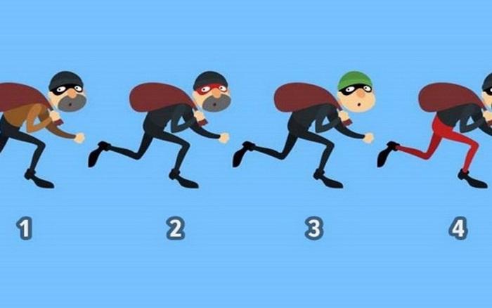 Người có tố chất làm nhà lãnh đạo tinh tường sẽ chọn số mấy là kẻ trộm?