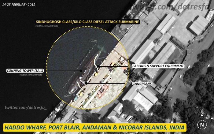 Cuộc đối đầu tàu ngầm Trung-Ấn ở Ấn Độ Dương