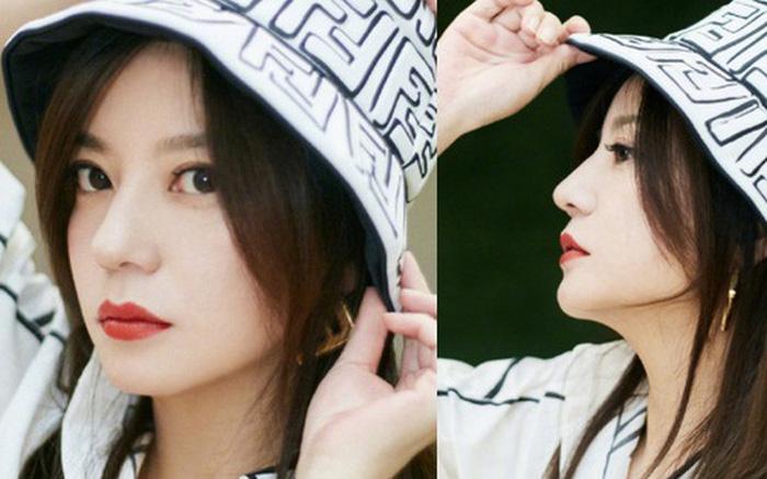 """Bộ ảnh mới của Triệu Vy khiến Cnet """"sốc nhẹ"""": Visual đỉnh cao ở tuổi 44, góc nghiêng """"bất bại"""" bao người..."""