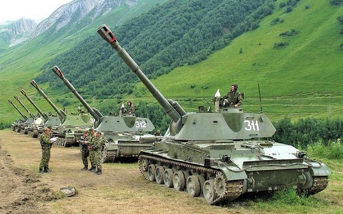 Tại sao phương Tây lo ngại pháo tự hành Akatsia của Nga?