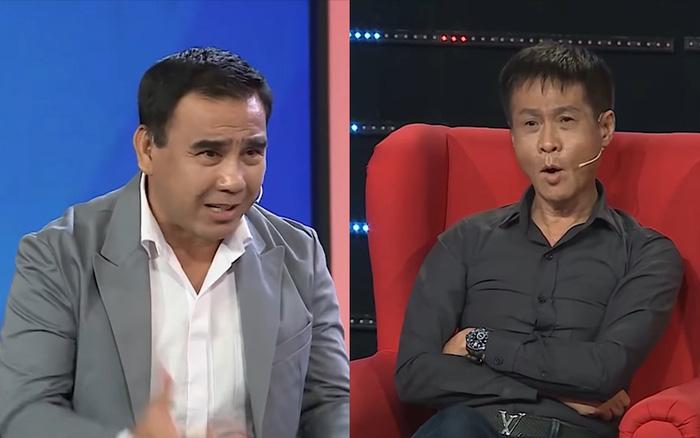 MC Quyền Linh bị Lê Hoàng phản ứng ngay trên sóng truyền hình: Không nên ép người quá đáng
