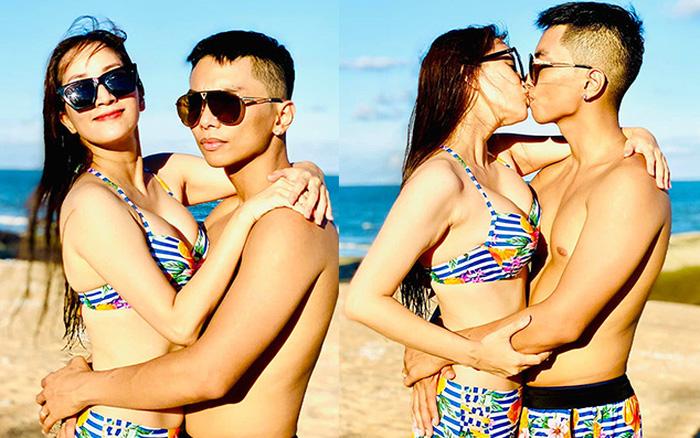 Khoe ảnh gợi cảm bên chồng kém 12 tuổi, Khánh Thy tuyên bố gây chú ý