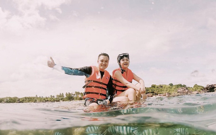 Quang Vinh bất ngờ lên tiếng xin lỗi về sự cố ngồi lên rạn san hô khi quay clip du lịch ở Phú Quốc