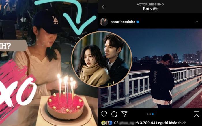 """Chủ đề hot nhất hôm nay """"Lee Min Ho chắc chắn đang hẹn hò Kim Go Eun"""": Lộ bằng chứng cùng mừng sinh nhật,..."""