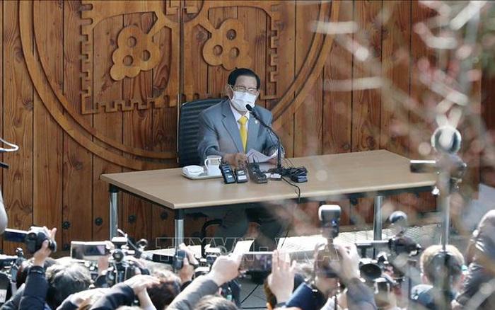 Hàn Quốc bắt giữ người đứng đầu giáo phái Tân Thiên Địa