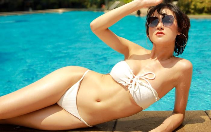 Loạt ảnh bikini gợi cảm của Hoa hậu Du lịch Châu Á 2019 - Phạm Lan Anh