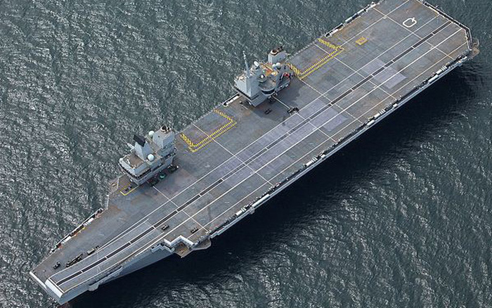 """""""Kỷ nguyên cạnh tranh mới"""" với Trung Quốc: Anh sẽ đưa tàu sân bay đến Biển Đông?"""
