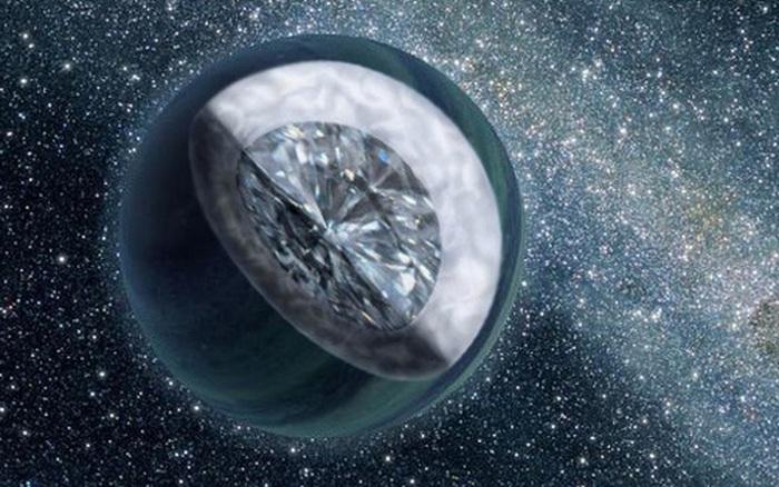 Một loạt ngoại hành tinh kỳ lạ chứa đầy kim cương đang tồn tại trong dải Ngân Hà