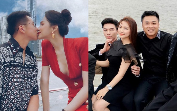 Hương Giang công khai ảnh hôn Matt Liu nhưng Hoà Minzy
