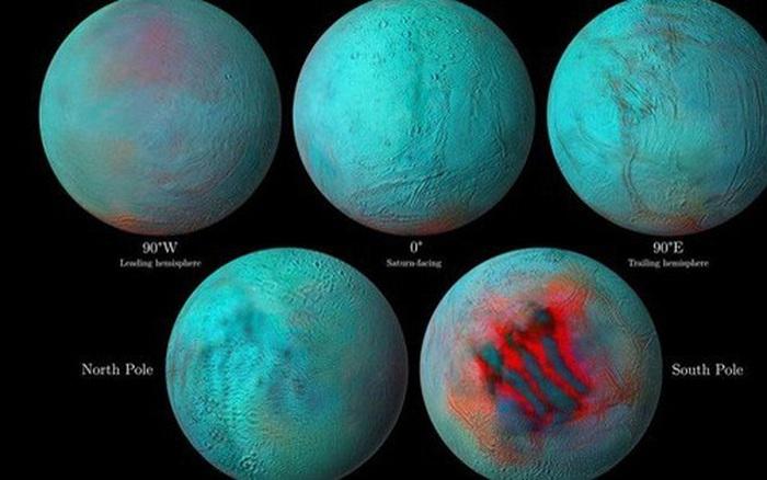 Dấu hiệu mới cho thấy mặt trăng Sao Thổ... sống được