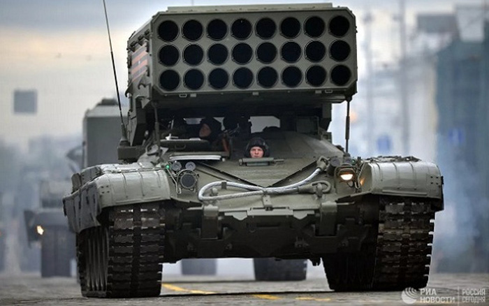 Nga lần đầu tiên sử dụng hệ thống TOS-2 tại cuộc tập trận Kavkaz-2020