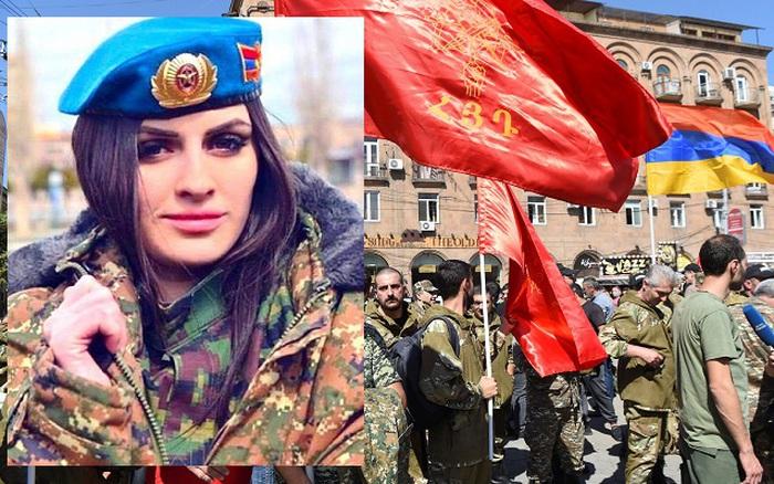 """Hình ảnh gây sốc của phu nhân thủ tướng và """"đạo quân thứ 2"""" với 100 nghìn lính của Armenia"""
