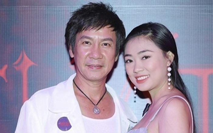 Danh hài Lê Huỳnh và vợ kém 30 tuổi
