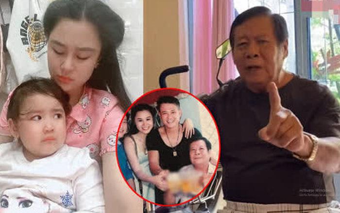 Vợ Vân Quang Long tiết lộ thái độ của bố chồng với cháu nội, không muốn giành thân phận