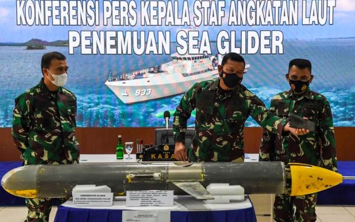 Trung Quốc bị lộ ý định khi thiết bị dưới nước rơi vào tay Indonesia