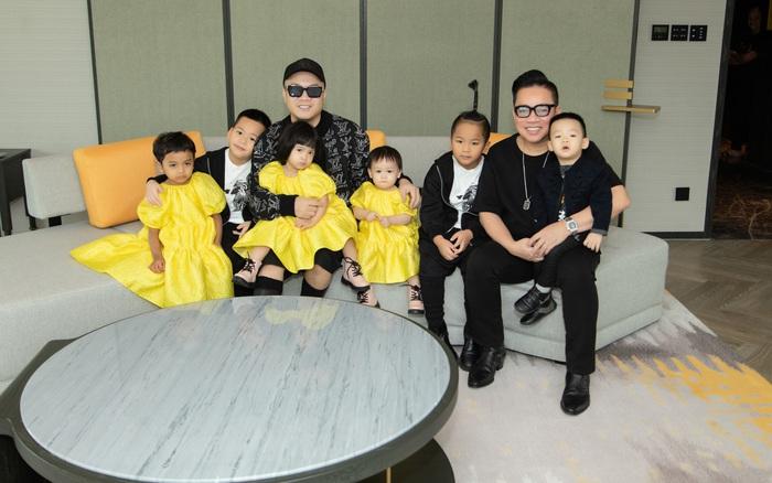 Đỗ Mạnh Cường đưa 6 con nhỏ đi nghỉ dưỡng sang chảnh