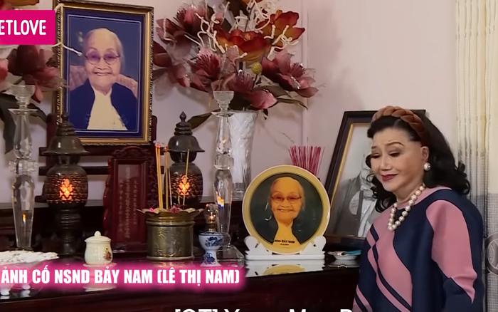 NSND Kim Cương 83 tuổi vẫn trẻ trung, sống sung túc trong căn biệt thự hơn 50 năm
