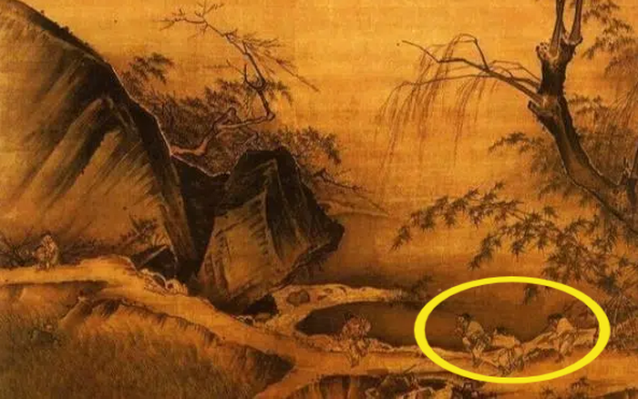 Bức họa quý 800 năm trong Tử Cấm Thành: Phóng to 50 lần góc bên phải, chuyên gia trầm trồ trước ẩn ý của tác giả