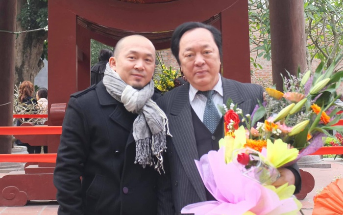 NSND Trung Kiên qua đời: Dàn sao Việt thương tiếc, xúc động với lời chào của con trai Quốc Trung