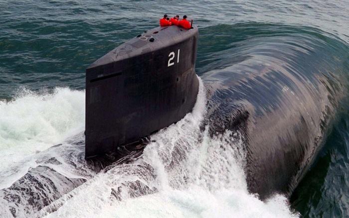 """Tàu ngầm """"Sói biển"""": Vũ khí bí mật hàng đầu của Hải quân Mỹ"""