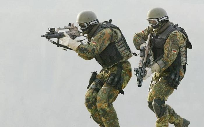 Hi hữu lính đặc nhiệm Đức bị nhầm là khủng bố ở Mỹ