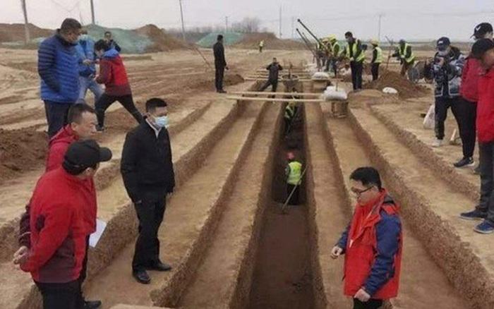 Xây đường tàu và sân bay, đụng độ 3.500 mộ cổ nằm gần đội quân đất nung