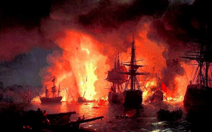 Điểm lại những trận chiến trên biển lớn nhất trong lịch sử thế giới