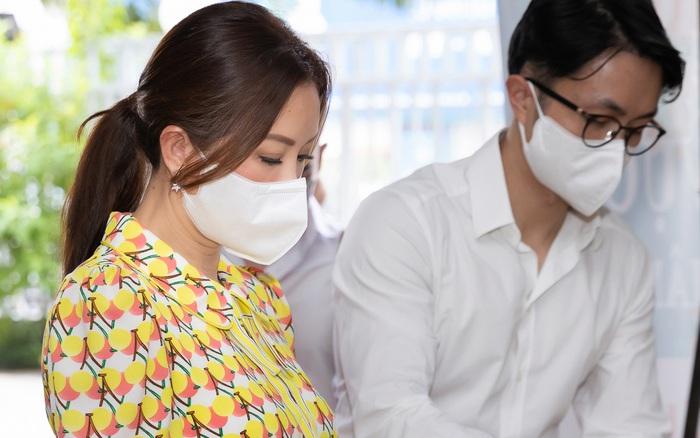 Hoa hậu Thu Hoài cùng hôn phu ủng hộ hoạt động ý nghĩa - giá vàng 9999 hôm nay 1311