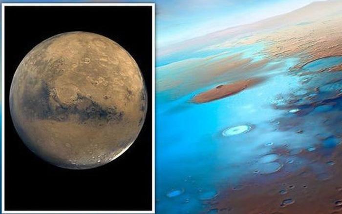 Toàn bộ đại dương của sao Hỏa đang bị 'nhốt' trong lớp vỏ hành tinh