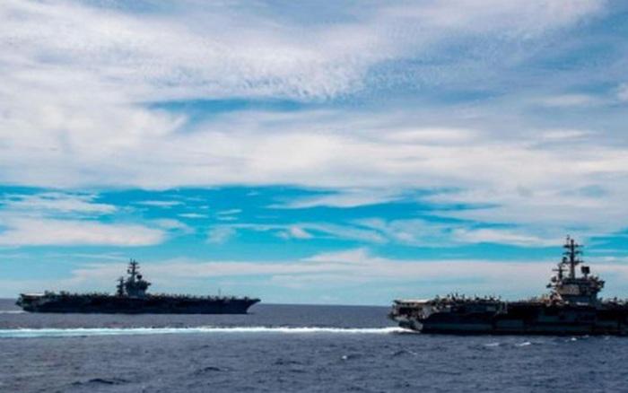 """Hải quân Mỹ """"lo ngại"""" song sẵn sàng đối đầu Trung Quốc ở Biển Đông và các khu vực khác"""