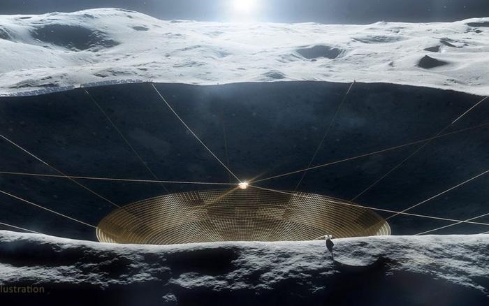 Mỹ đang lắp kính viễn vọng lớn ở phần tối của Mặt Trăng - nơi Trung Quốc vừa 'ngự trị'
