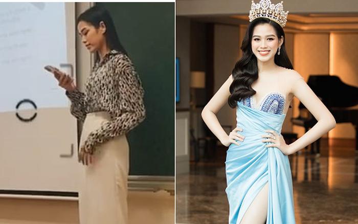 Bức ảnh chụp lén tiết lộ hình ảnh thật ngoài đời của Hoa hậu Đỗ Thị Hà