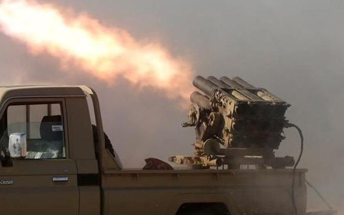 Căn cứ không quân Mỹ bị tấn công dữ dội bằng tên lửa