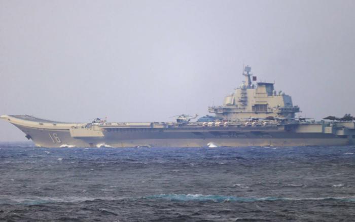 Trung Quốc điều tàu sân bay qua eo biển Nhật Bản