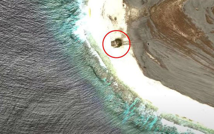 Xôn xao tin tức phát hiện địa điểm rơi UFO trên Google Maps tại hòn đảo bí ẩn bậc nhất Trái Đất
