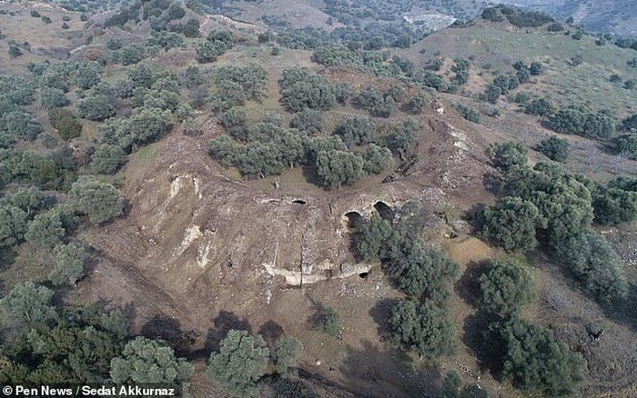 Phát hiện đấu trường La Mã cổ xưa ở Thổ Nhĩ Kỳ