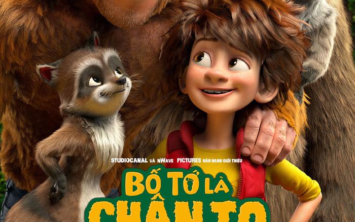 Tặng vé xem phim The Son Of Bigfoot - Bố Tớ Là Chân To