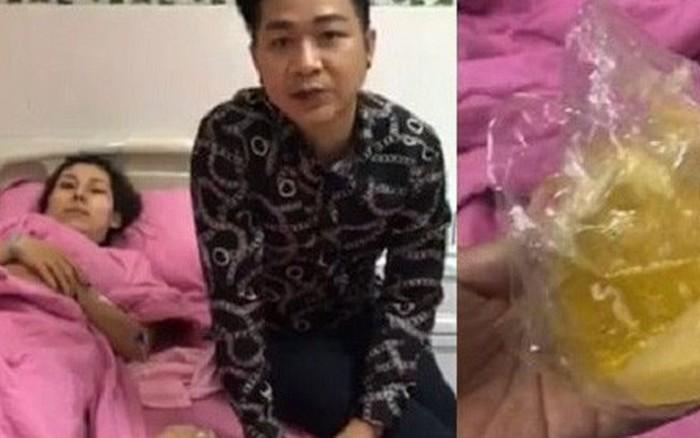 Sốc với cảnh em kết nghĩa của ca sĩ Quách Tuấn Du bất ngờ bị nổ túi ngực 2.000 USD ngay trên máy bay