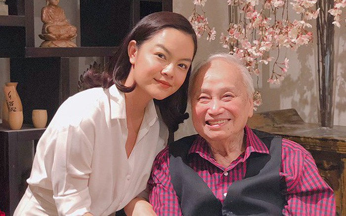 Phạm Quỳnh Anh được nhạc sĩ Lam Phương khen giọng hát hay