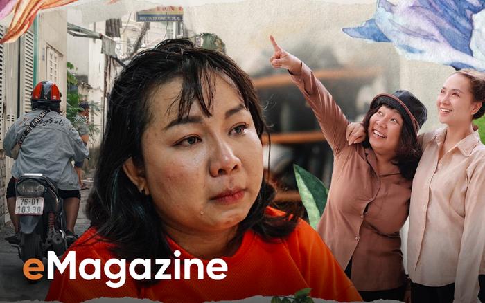 Diễn viên Kim Đào: Tôi đang ôm con mà ba cầm cái chảo táng bốp vào mặt. Trong nhà toàn tiếng chửi bới, la...